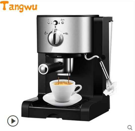 Free shipping Espresso machine semi-automatic all use commercial capsule steam yi package Coffee machine free shipping the espresso machine use commercial semi automatic instant steam double charged coffee machine