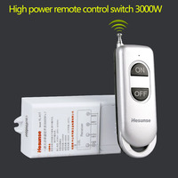 Wireless Intelligent Electric Lighting Remote Switch 220v 3000w Pump High Power Controller