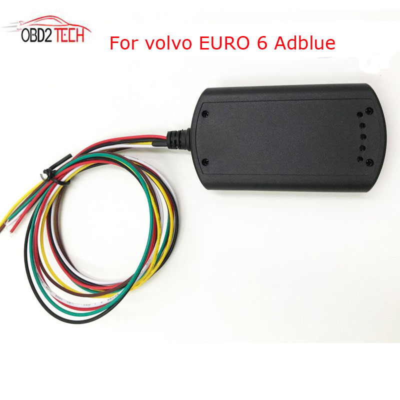DHL Shipping Truck Adblue Emulator For VOLVO Support Euro6 Adblueobd2 With DPF system and NOX sensor hand woven brown resin wicker rocking chair for outdoor garden transport by sea
