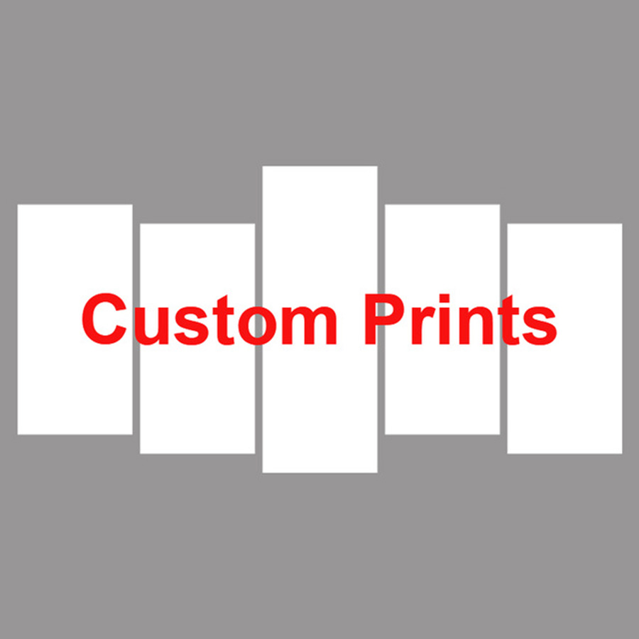 Drop Shipping Custom Made Modern Painting Picture Decoration Canvas Art 5 Panel Customized Wall Decor For Living Room in Painting Calligraphy from Home Garden