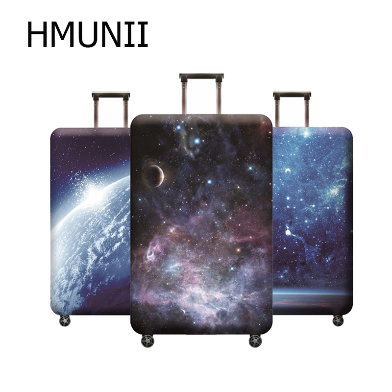 HMUNII Brand Suitcase Elastic Protective Cover Luggage Cover Travel Accessories Fit 18 To 32 Inch Travel Trolley Suitcase Case