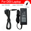 Laptop Charger Power Cable Adapter Replacement AC Adapter 19.5V-4.62A 7.4*5.0mm Round Port With Needle for DEll Laptop Notebook