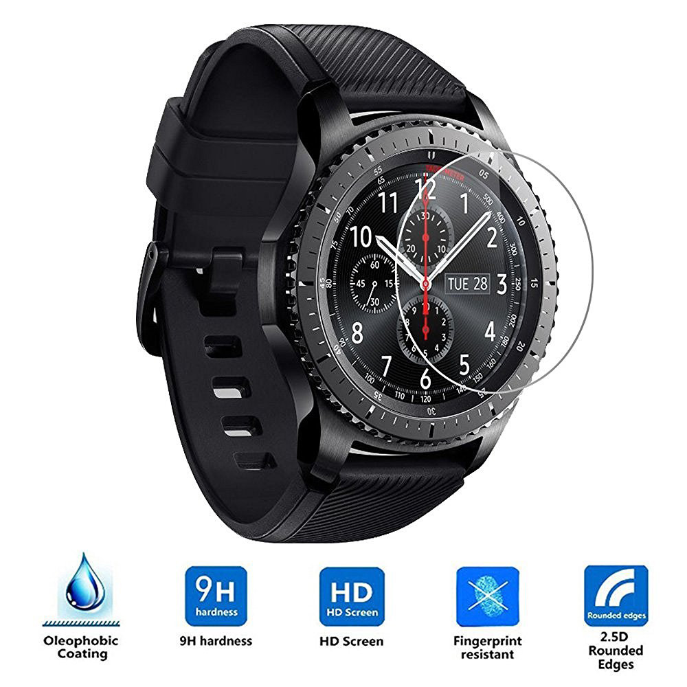 Protect-Protector Intelligent Samsung Gear S3 Frontier Lcd-Screen 2PC for Hd-Film Factory-Price