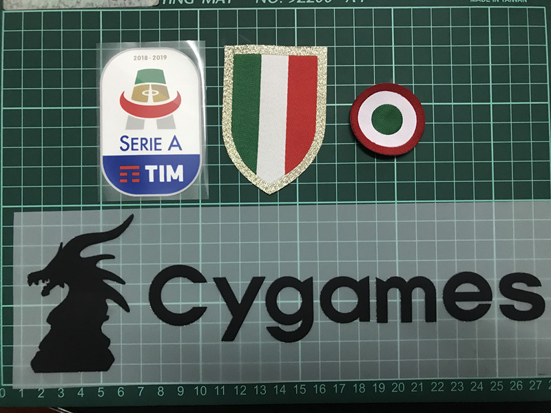 coppa italia patch toppa scudetto champions juve 2018 2017 2019 respect