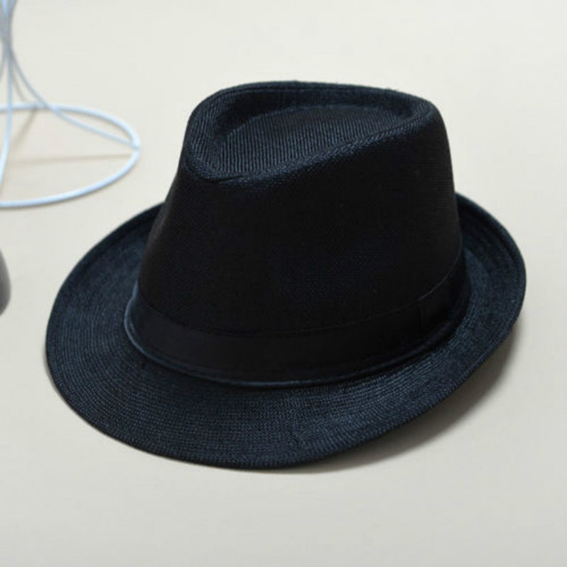 Unisex Straw Fedora Sun Hat Panama Trilby Crushable Mens Ladies Foldable  Travel 7ed5b27383f