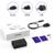 Tronsmart u5pta usb carregador de carga rápida carregador 3.0 usb 1 rápida Porta de carga & 4 Portas para Telefone VoltIQ Tablet UE/EUA/REINO UNIDO Tipo