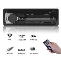 Rhythm Single 1 din auto radio bluetooth autoradio usb FM Car Radio Stereo Audio Music USB SD In Dash Slot AUX Input