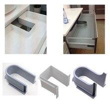 Пластиковый U-образный ящик для раковины, кухонная мебель для ванной, встраиваемый U под раковину, дренажная втулка