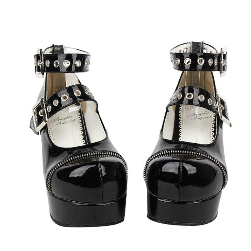 promo code 0970b 67ecd Punk Anime Grossolani Neutro Scarpe Dual Stiletto Shoes ...