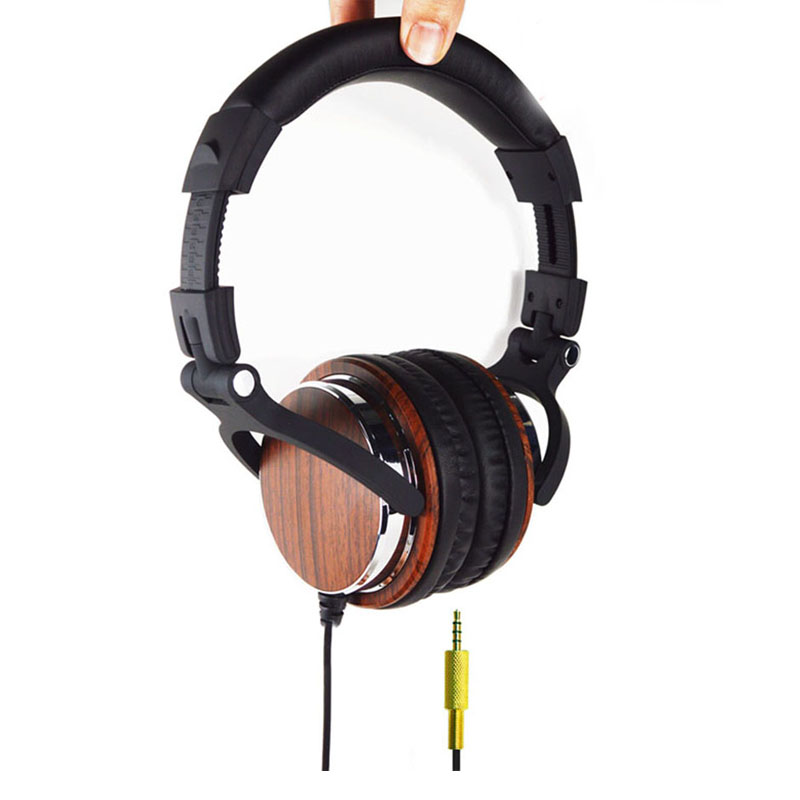 ФОТО DIY QC3 HiFi Big Gaming Headphones for PC Subwoofer Computer Headset Stereo Earpiece Universal Wired Earphone for Game OULIVE M2