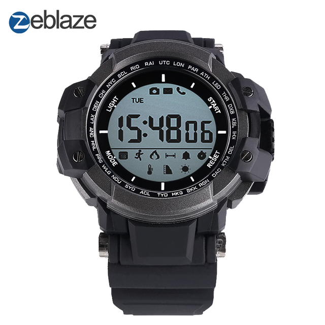 2017 New! Original Zeblaze MUSCLE Sports Smart Watch BT 4.0 Waterproof Smartwatch Pedometer Smart Health Wearable Devices