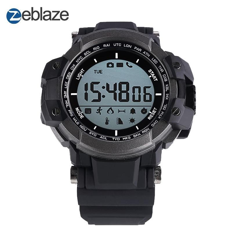 2017 Nouveau! D'origine Zeblaze MUSCLE Sport Montre Smart Watch BT 4.0 Étanche Smartwatch Podomètre Smart Santé Dispositifs Portables