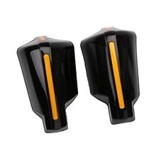 2 Pcs Motorcycle Hand Guard Handvat Protector Shield Voor 7/8 Stuur Motorbike Motocross Scooter Atv Etc Winddicht Handguards