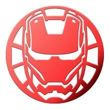 Новое поступление, маска Железного человека, 3D металлические наклейки, роскошные наклейки на телефон, ноутбук, автомобиль, сделай сам, наклейки