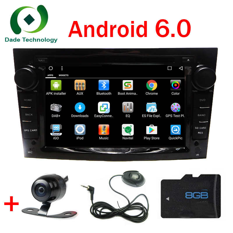 for opel astra h vectra corsa zafira b c g j quad core 2din android 6 0 1 car multimedia dvd. Black Bedroom Furniture Sets. Home Design Ideas