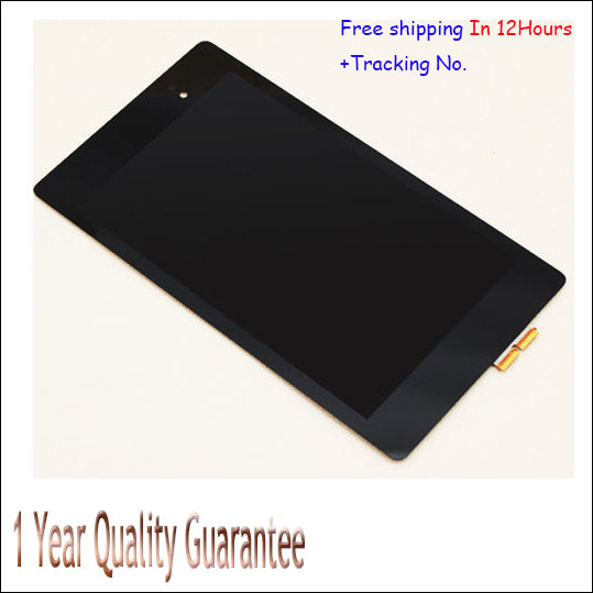 Original New Full LCD Display+Touch Screen Digitizer Assembly For ASUS Google Nexus 7 2nd GEN 2013 In Stock!Test ok,Tracking No. brand new for asus google nexus 7 fhd 2nd gen 2013 lcd display screen with touch screen digitizer assembly free shipping