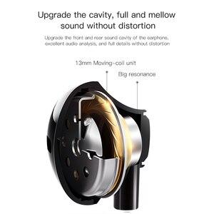 Image 4 - Baseus C06 السلكية سماعة نوع C باس ستيريو سماعات مع هيئة التصنيع العسكري الرياضة سماعة 3.5 مللي متر جاك آيفون سامسونج في الأذن سماعة السلكية