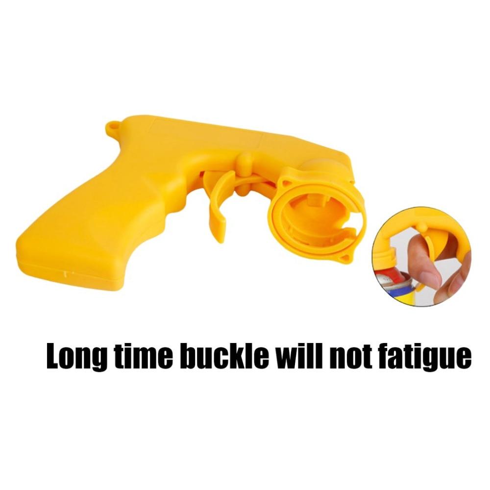 EAFC спрей адаптер для ухода за краской аэрозоль пистолет ручка с полным захватом Блокировка курка воротник уход за автомобилем