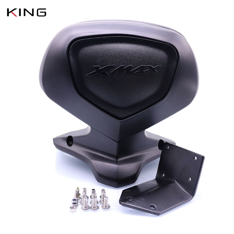 For YAMAHA XMAX250 XMAX300 XMAX400 XMAX 250 300 400 X-MAX 125 Scooter Rear Seat Bracket Backrest Tail Top Box Case Cover Protect