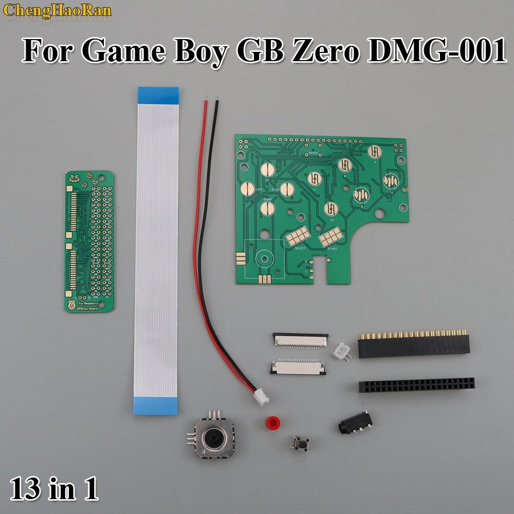 ChengHaoRan 6 кнопок печатной платы переключатель провода разъем комплект для Raspberry Pi GBZ для Game Boy GB Zero DMG 001-in Сменные детали и аксессуары from Бытовая электроника on AliExpress - 11.11_Double 11_Singles' Day