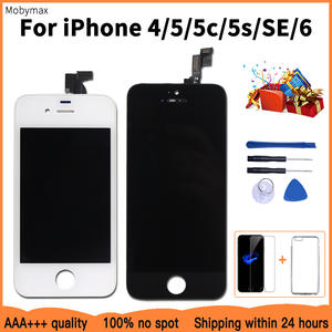 Lcd-Display Case Touch-Screen-Replacement 5s 5c iPhone 4 for Tempered-Glass--Tools Promotion