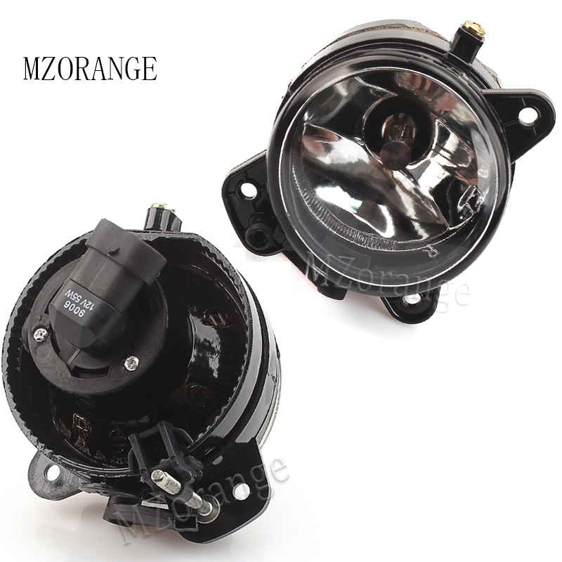 mzorange for vw polo 9n 2005 2006 2007 2008 2009 car front bumpermzorange for vw polo 9n 2005 2006 2007 2008 2009 car front bumper fog light halogen fog lamps clear lens 9006 bulbs left right
