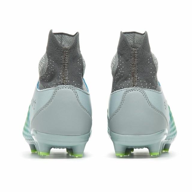 Sufei botas de fútbol hombres de tobillo alto Superfly fútbol zapatos AG  profesional al aire libre 8c8a18e8c6432