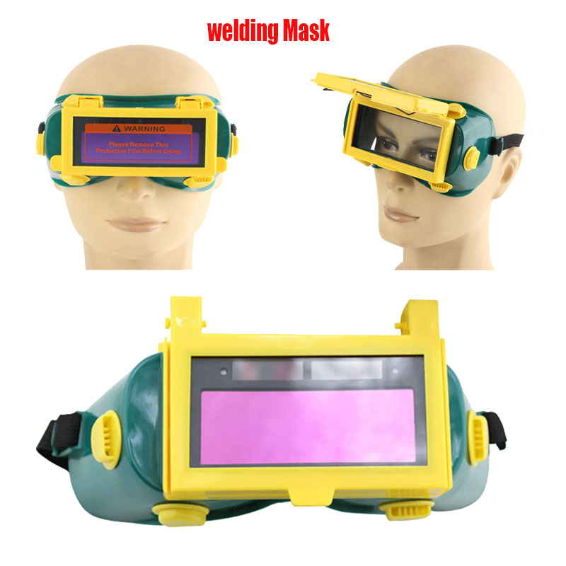 все цены на Industry Safety Solar Auto Darkening TIG welder Welding Eyes Mask Goggles Glasses Helmet Work Mask