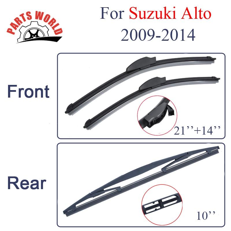 Fits Suzuki Swift MK3 Hatch Aero VU Front /& Exact Specific Fit Rear Wiper Blades