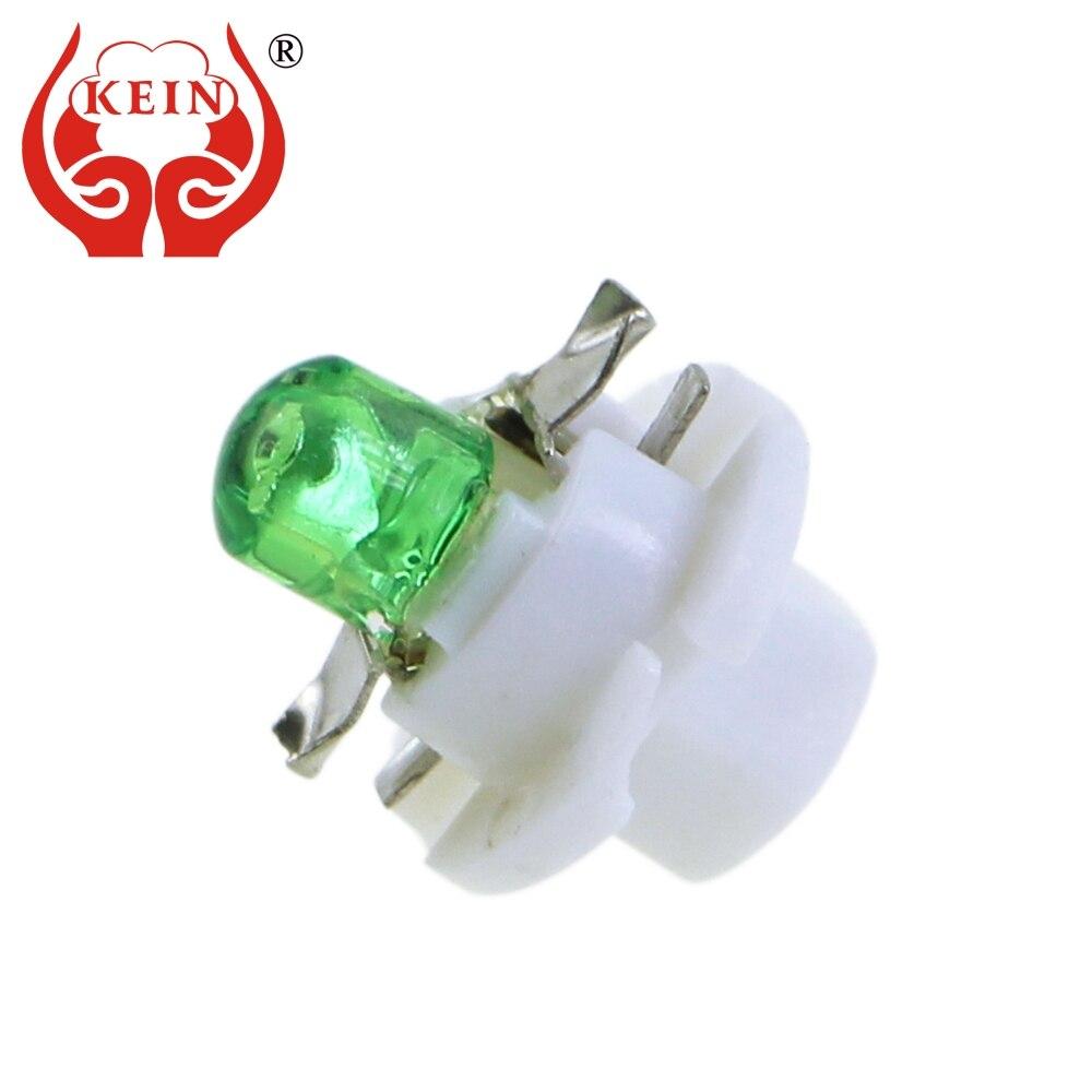 KEIN 1PCS 12V B8 4D led b8 4 COB Idashboard light Dashboard Warning Indicator Lamp Bulb