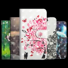 Luxury Flip Leather Case For Sony Xperia L2 H3311 H3321 H4311 Cover 3D Painted Wallet Card Slot Silicone Cover For Sony L2 Case цена и фото