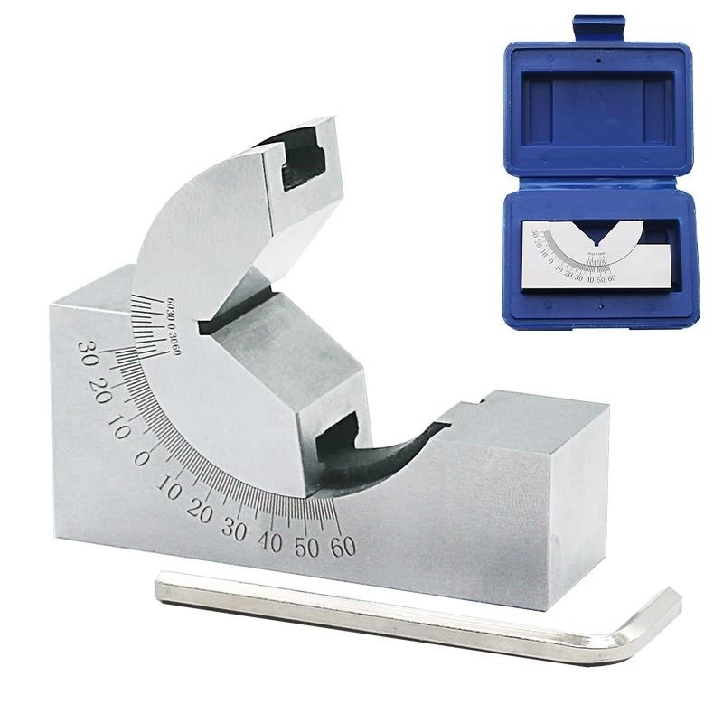 Adjustable Angle Plate : Sine gauge adjustable angle precision pad