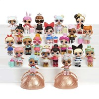 Children Toys Surprise Dolls Series Balls Christmas Gifts For Children Girl Birthday Outrageous Little Mystery Pack