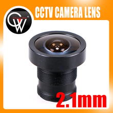 2.1mm Lens CCTV M12 Board Lens 150 Degrees For CCTV Security Camera Free Shipping