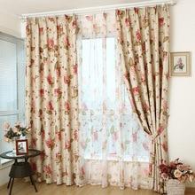 La lluvia de alta gama de estilo Europeo ventanas cortinas cortinas para la sala de estar dormitorio oferta especial de personalización del producto
