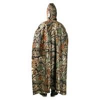 3 in 1 Multi-function Adult Raincoat Male Female Outdoor Backpack Rain Cover for Camping Hiking Rainwear Wateproof Poncho