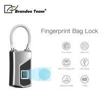 L1 Smart Keyless Fingerprint Lock For Car Motorcycle Bike Waterproof Security Anti theft Door Suitcase Luggage Bag lock