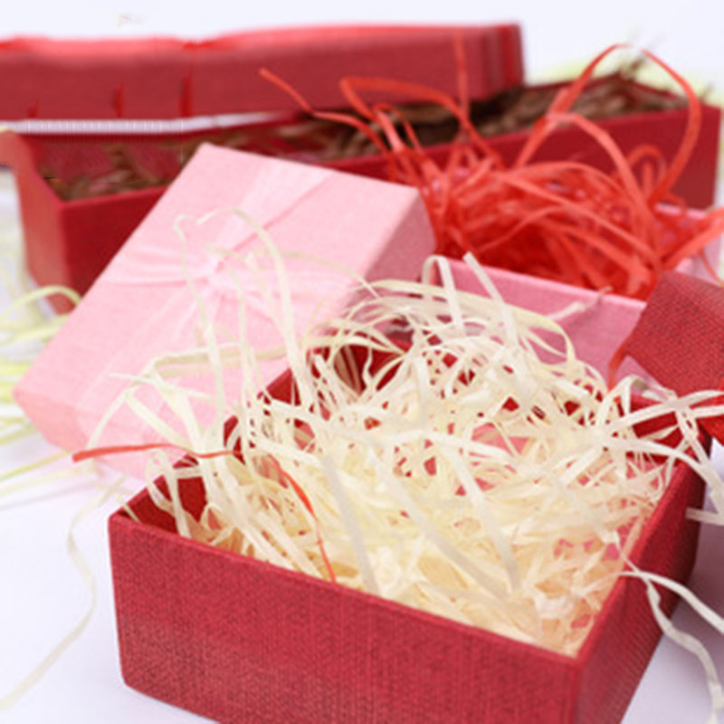 Colorful Shredded Crinkle Paper Gift Box Filler Craft Party Craft Paper Diy Decoration Practical Packaging Gift Basket Filler