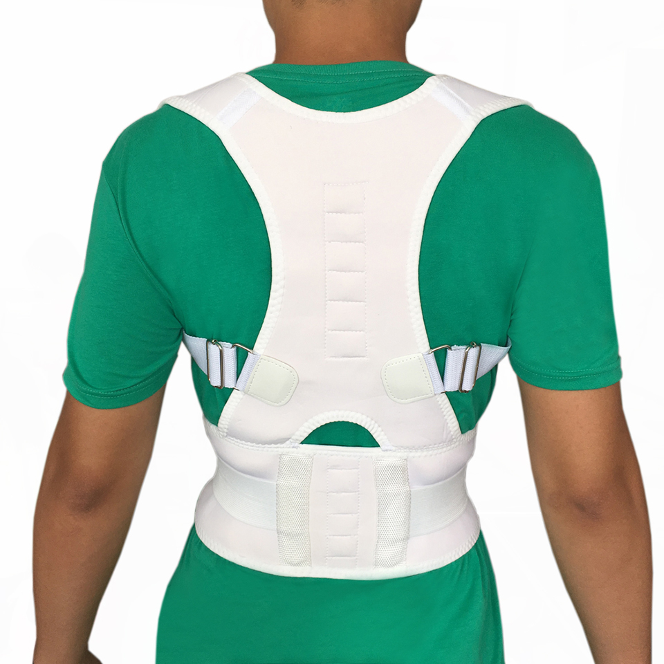 Men Orthopedic Back Support Belt Correct Posture Brace Correcteur de Posture 10 Magnets S M L XL XXL Magnetic Posture Corrector