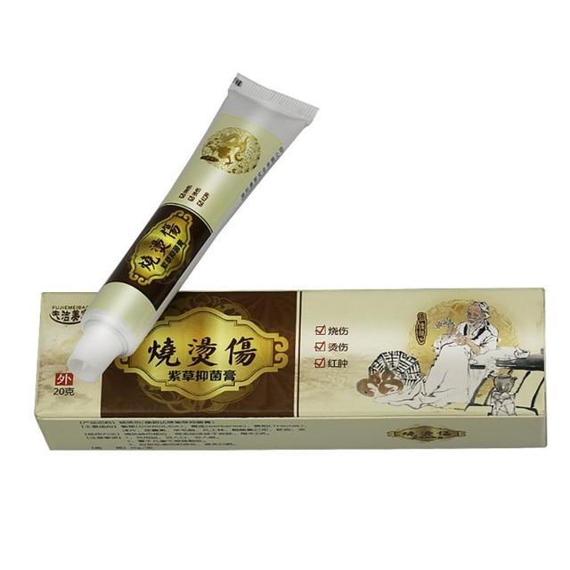 1pcs Hua Tuo Burn Ointment Anti Bacteria Burn Scald Scar Removal