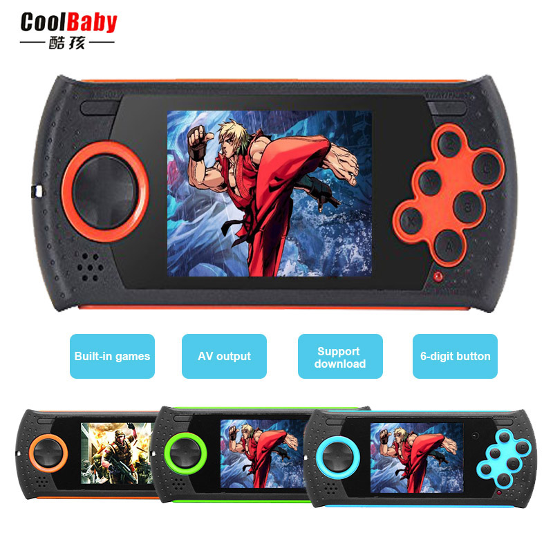 NEW Portable mini Game Consoles 16-Bit video game Built-in 100 in 1 Kids classic Game gamepad Support TV Kids Best Gift