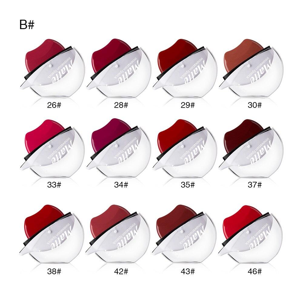 Red Lip Matte Lipstick MENOW Full Coverage Lipstick Velvety Lasting Waterproof Lip Gloss Sexy Red Lip Tint Sexy Lipstick Matte in Lipstick from Beauty Health