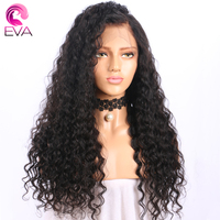 13x6 Lace Front Human Hair Wigs With Baby Hair Pre Plucked Hairline Deep Wave Lace Front Wigs Brazilian Remy Hair Eva Hair Wigs