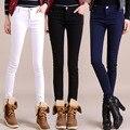 Осенью и зимой женщины леггинсы бархатные пиджаки большой размер карандаш брюки сапоги брюки теплые ноги штаны девушки тепловые узкие брюки