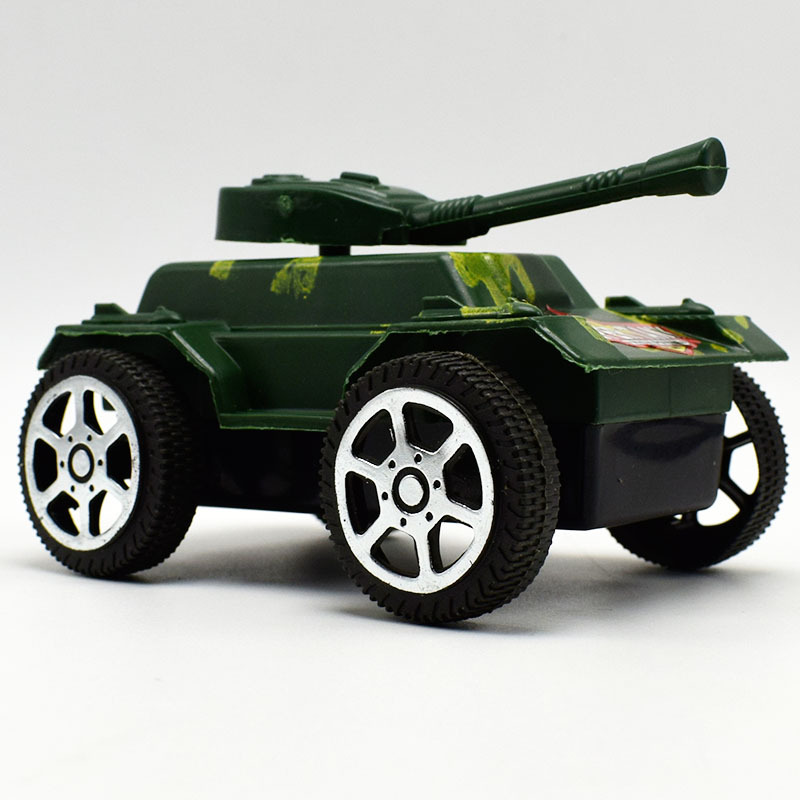 1Pcs New Plastic Armored Vehicles Pull Back Tank Car Model Toy for Boy Kid Gift,Military Wheeled Armoured Vehicle Cars Model Toy