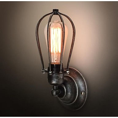 Edison Retro Loft Style Sconce Vintage Wall Light For Home Antique Industrial Wall Lamp Iron Art Lighting Lampara Pared glass wooden arm retro vintage wall lamp led edison style loft industrial wall light sconce home lighting appliques pared