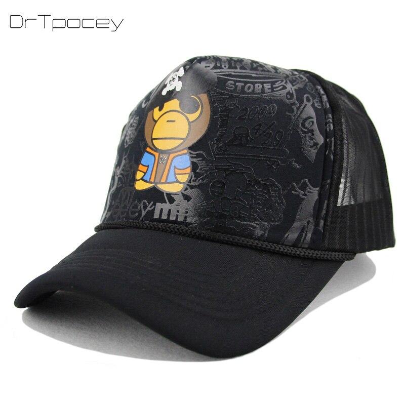 Summer Mesh Golf Cap Baseball Cap Snapback Hat Fashionable Tennis Sports Hip hop Trucker Hat God Men Women Cap Gorras wholesale