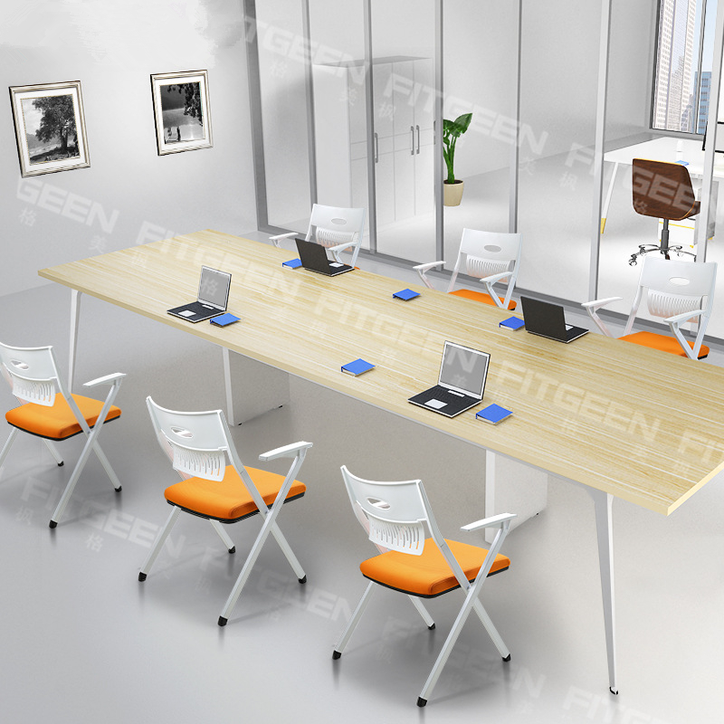 Modern Design Folding Staff Meeting Training Chair Portable Simple Office Computer Chair Student Learning Gaming Chair 2pcs/lot