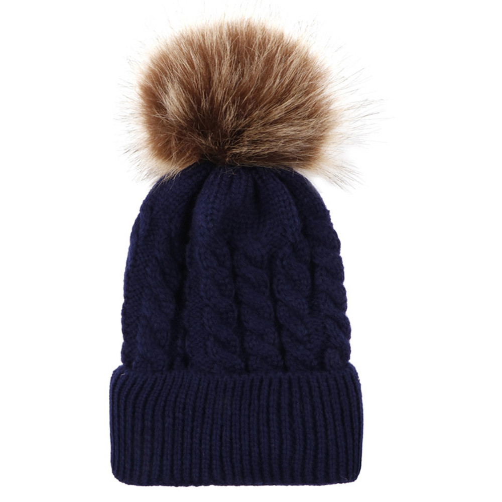 Winter Hats For Women Beanie Men Skullies Bonnets Cute Newborn Toddler Kids Baby Boy Girl Cotton Hat Winter Warm Cap Invierno