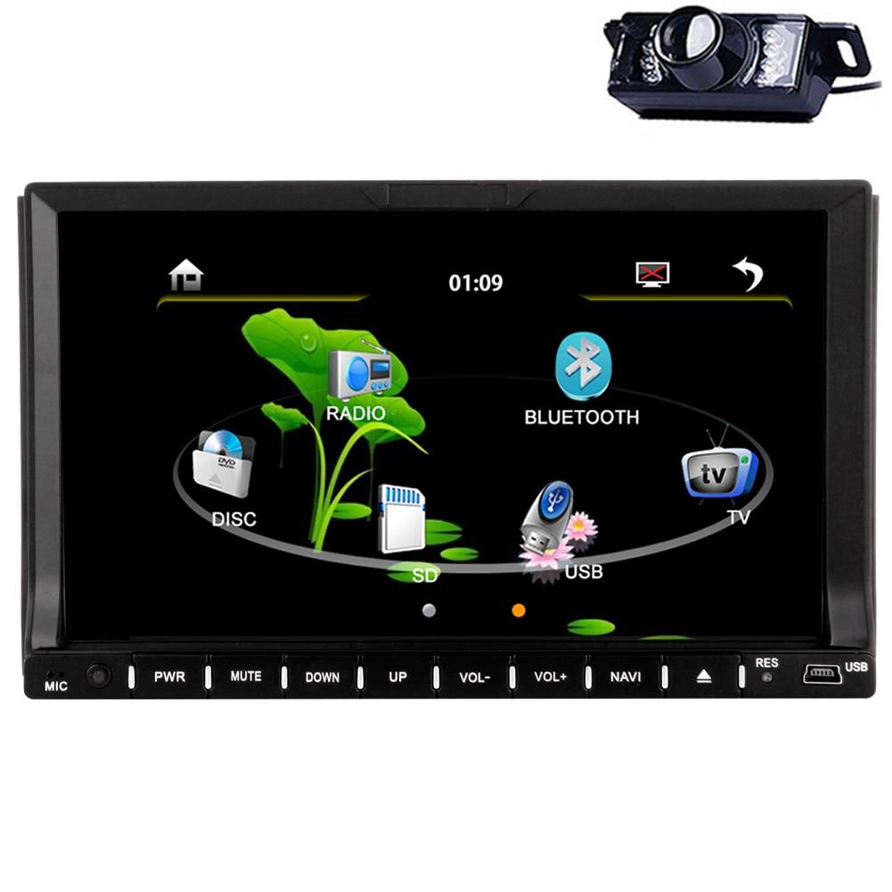 Electrónica AMP Auto Coches Reproductor de DVD 2 Din Estéreo de Vídeo Autoradio